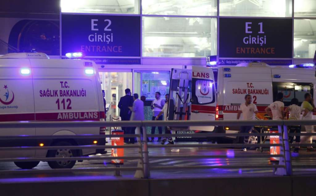 Suicide Bombers Shake Ataturk Airport in Istanbul…Dozens of Victims