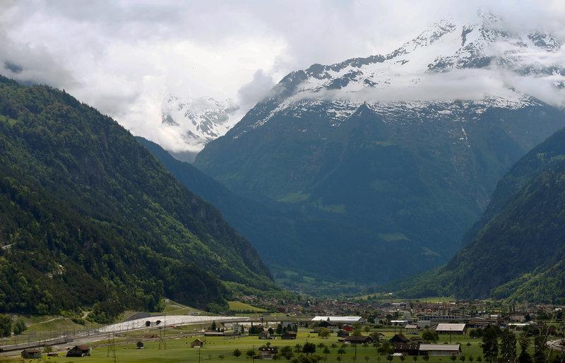Switzerland Inaugurates World's Longest Rail Tunnel