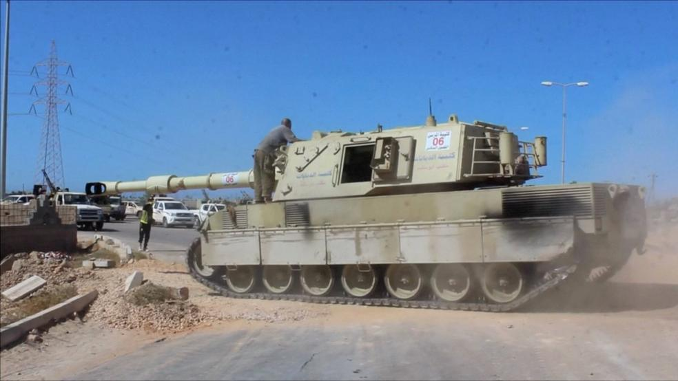 Sarraj Forces Receive Western and U.S. Support in its Fights against ISIS in Sirte