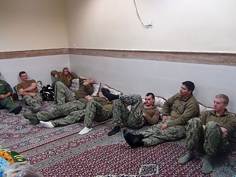 Anger in U.S. over Classified Report on Revolutionary Guard's Arrest of Marines