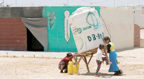 Syrian Refugees Prepare For Long Term Exile at Jordanian Camp