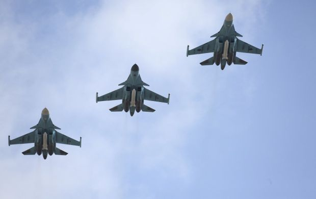 Russian Air Power Playing Major Role in Raqqa Battles