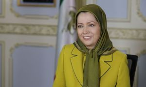 Maryam Rajavi, head of the National Council of Resistance of Iran