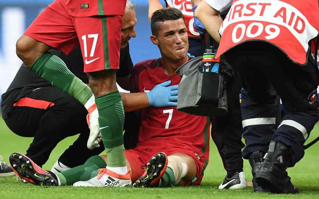 Cristiano Ronaldo's Tears of Sadness Turn to Joy on Portugal's Greatest Night