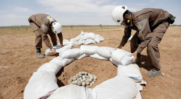 The Syrian Regime and Russia Continue to Use Cluster Bombs