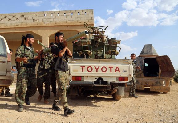 Manbij Council Offers to Evacuate Wounded ISIS Soldiers in Exchange For Civilians Leaving