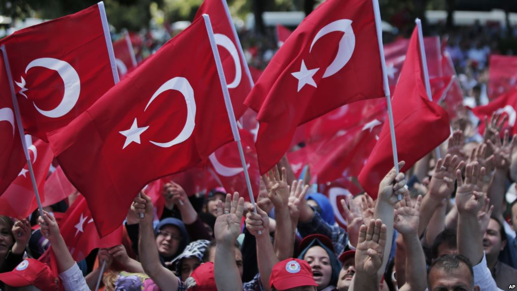 Protest against Turkey's Failed Coup Colored by Fear of Strongman President