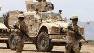 Arab Coalition Air Power Thwarts Insurgency Transfer of Artillery onto Saudi Borders