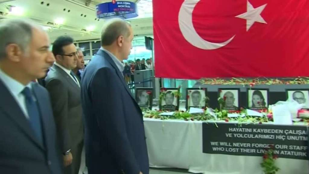 Turkey Arrests 27 Suspects in Ataturk Airport Attack