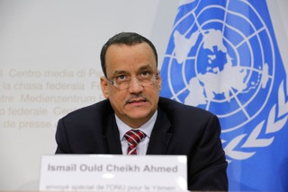 U.N. Special Envoy to Yemen Seeks to Meet President Hadi, Save Peace Negotiations