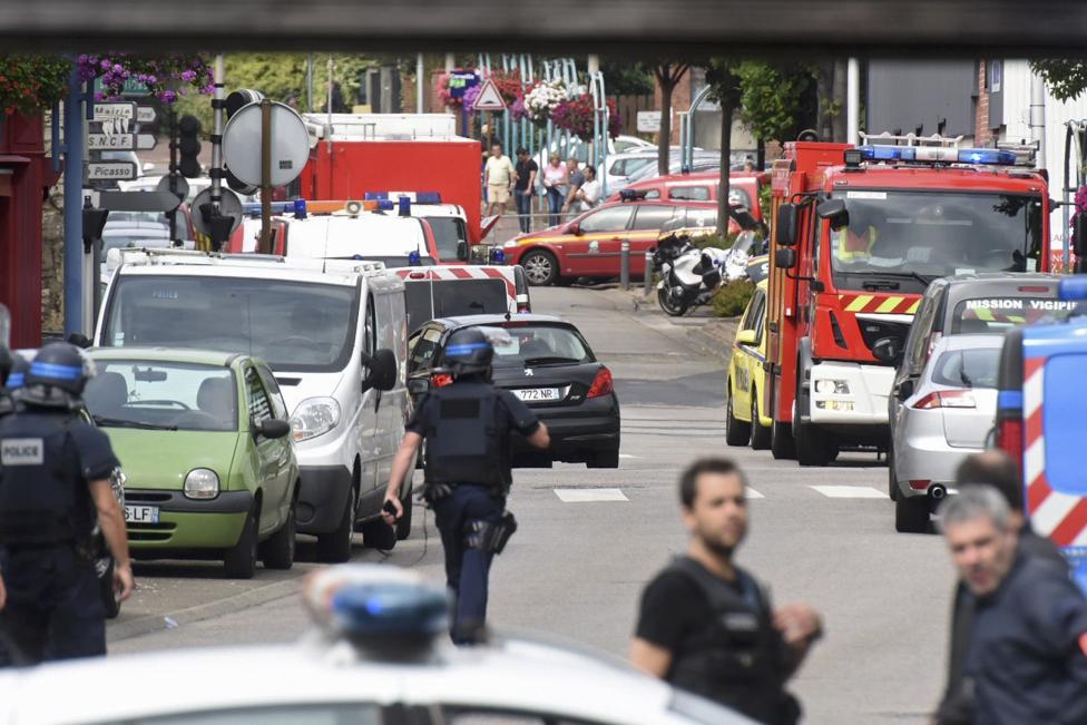 French Church Attack: Priest Killed, ISIS Claims Responsibility