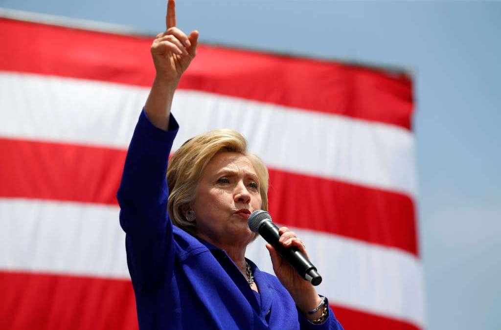 Democrat Clinton Wins Historic U.S. Presidential Nomination