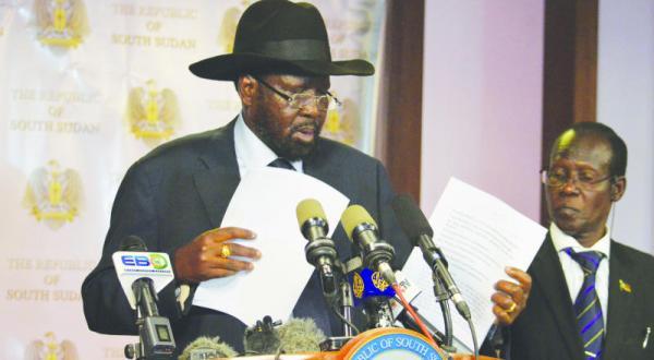 South Sudan: Salva Kiir Declares Ceasefire Agreement With Machar