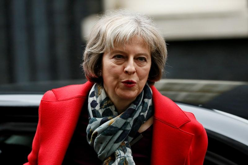 May's First Job as British PM Is to Set Up Brexit Ministry