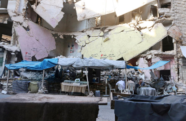 Syrian Opposition Fighters Launch Intense Offensive to Break Aleppo Siege