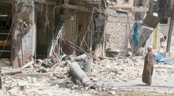 Retaliatory Russian and Syrian Air Raids on Neighbourhoods in Aleppo Kill 19 Civilians