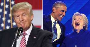 Donald Trump claims Barack Obama and Hillary Clinton founded ISIS. Reuters