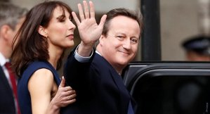 Everyone Bar Larry the Cat, UK Honors Outrage Over Camerons Cronyism. Reuters