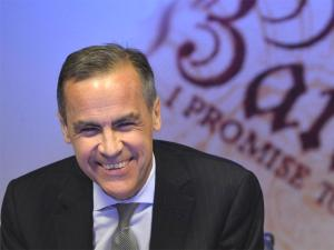 Governor of the Bank of England Mark Carney. Getty Images