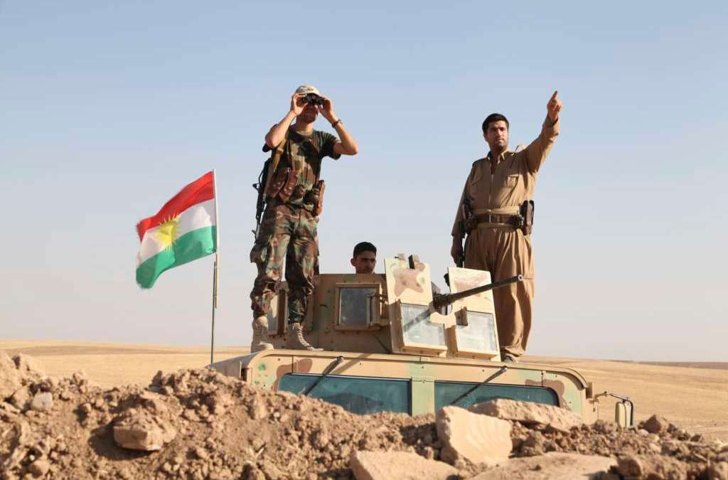 Erbil Rejects Baghdad's Request to Stop Peshmerga Advance towards Mosul