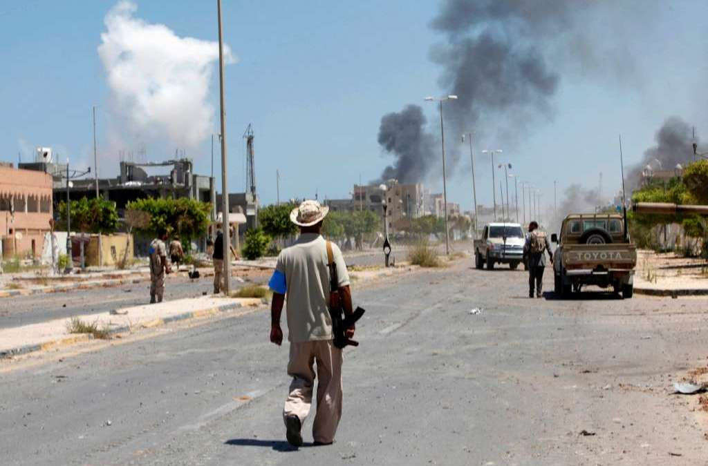Libyan Forces Prepare for Liberation of Sirte