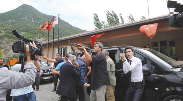 Turkish Opposition Leader is Targeted in Attack and the Authorities Accuse the PKK