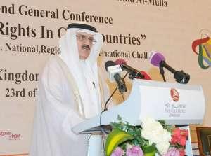 Speaker of the Council of Representatives Ahmed bin Ibrahim al-Mulla. Asharq Al-Awsat