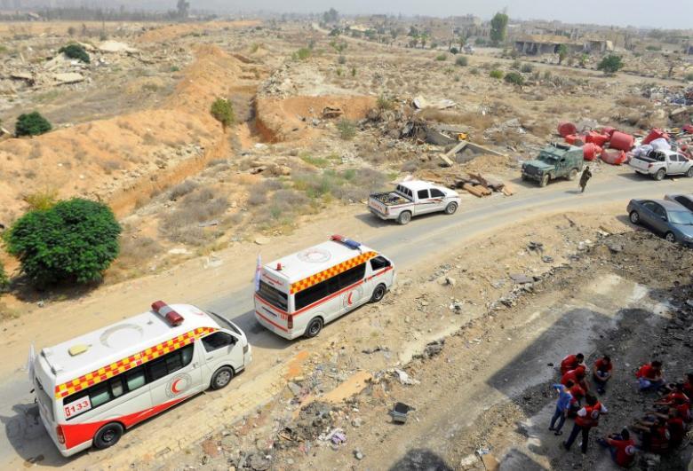 Daraya Siege: Tears as Evacuation Draws Closer