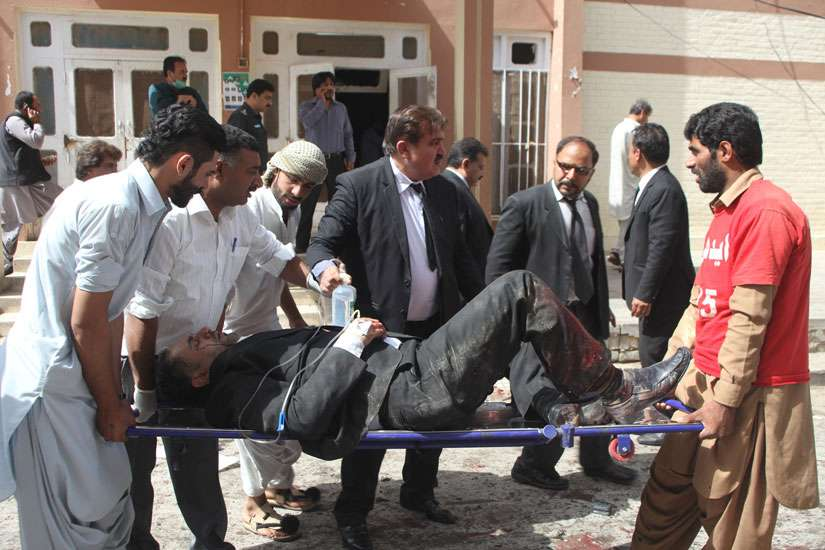 At Least Seventy Killed in a Suicide Attack in Pakistan