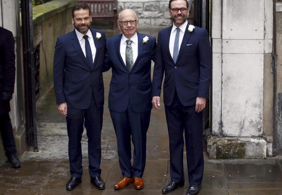 Murdoch Empire Shaken, Even Before His Death