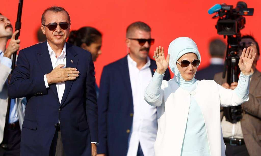 Huge Crowds Gather for Turkish Martyrs, Pro-Democracy to Show Unity