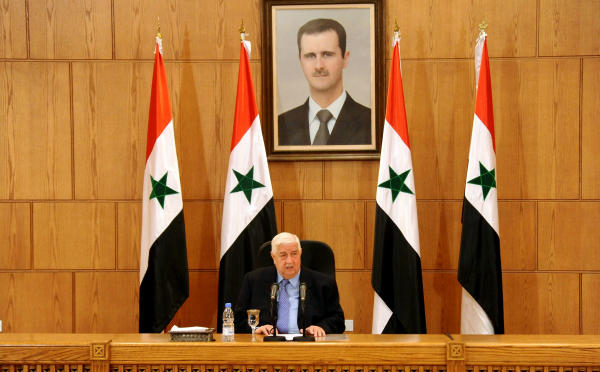 Kerry Discounts Syrian Suggestion of Talks on Unity Government