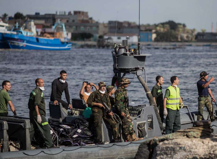 More than 130 bodies Recovered after Egypt Boat Tragedy