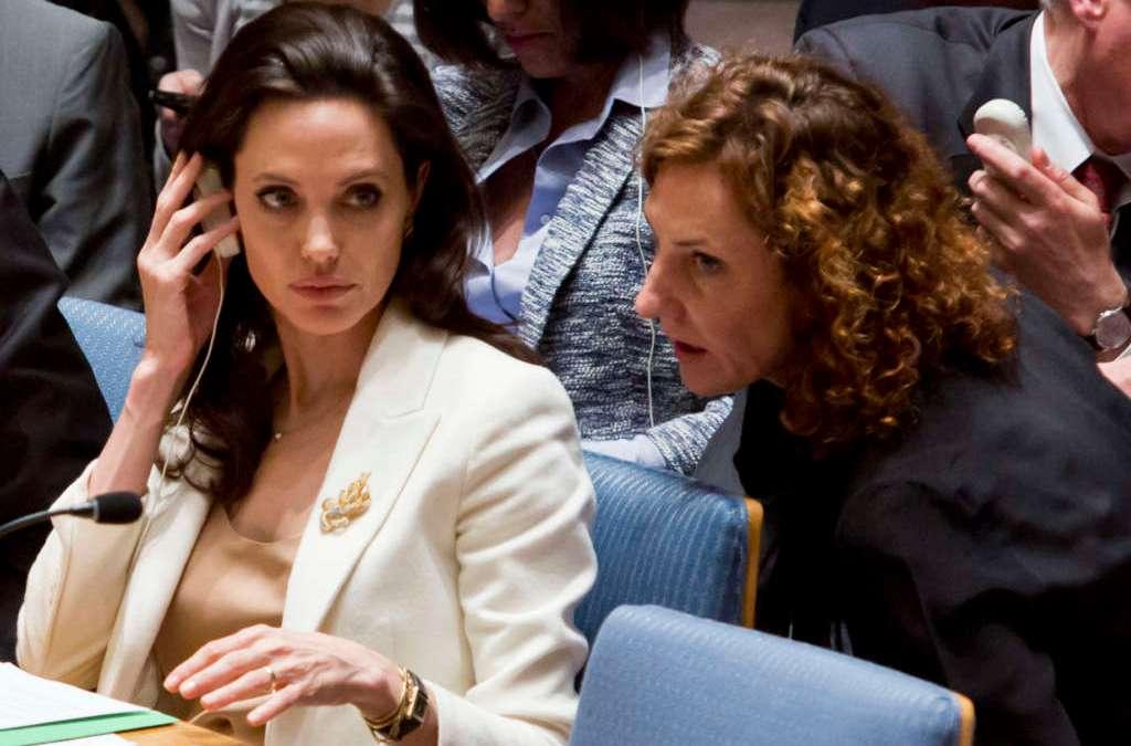 Jolie's U.N. Ambitions behind Marital Crisis