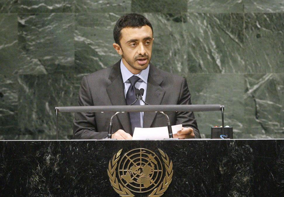 Abdullah bin Zayed: 'Iran's Actions Cause Tension, Instability in the Region'