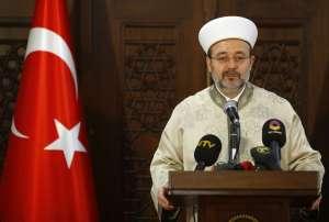 Mehmet Gormez, head of Turkey's Religious Affairs Directorate. Reuters