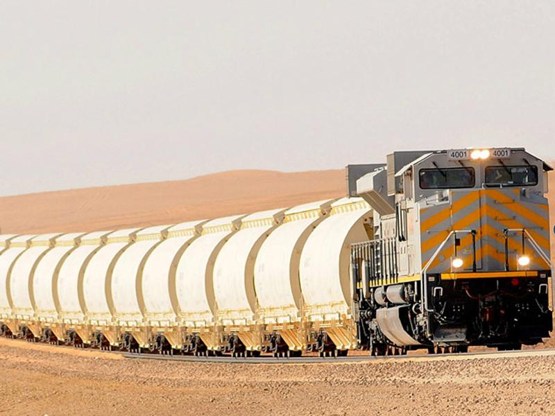 SAR Transfers 751,000 Tons of Phosphate, Bauxite in August