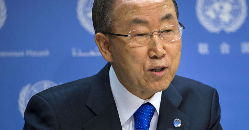 Ban Ki-moon Lauds Saudi Arabia's Leading Role in Fighting Terrorism