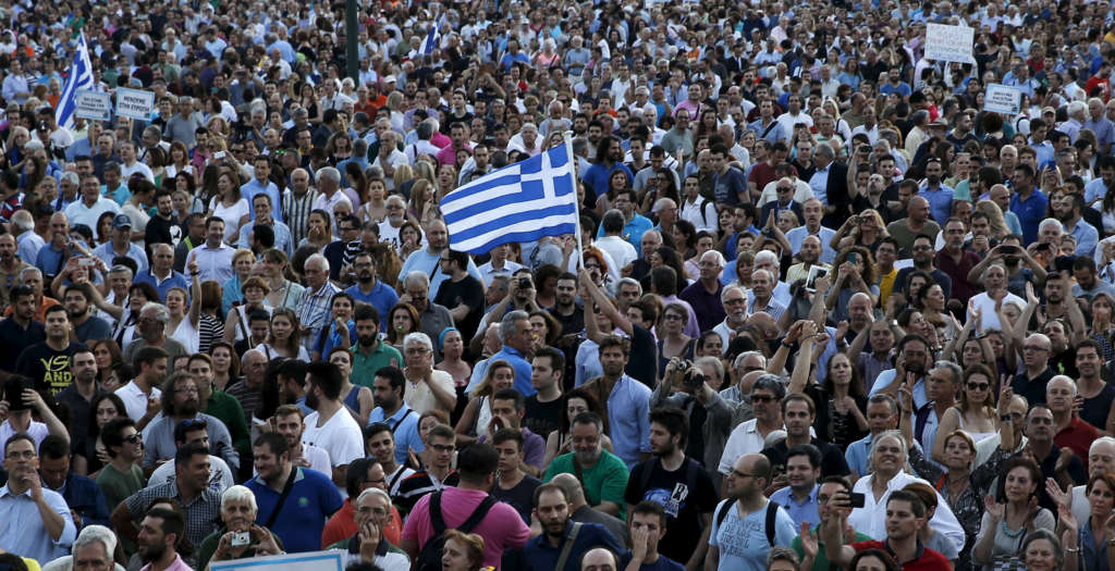 Greece's Economy amid International Pressures, Popular Anger