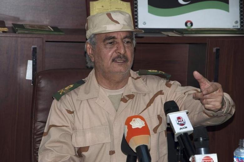 Haftar Set on Opposing Sarraj Government