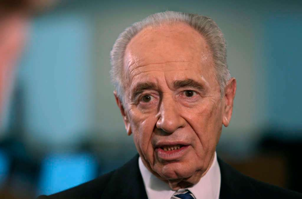 Israel's Peres Shows 'Some Improvement' after Stroke but Still in Serious Condition