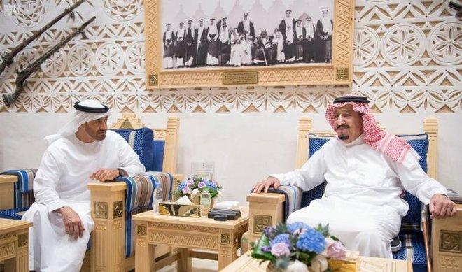 UAE-Saudi Discussions over Latest Developments in the Region