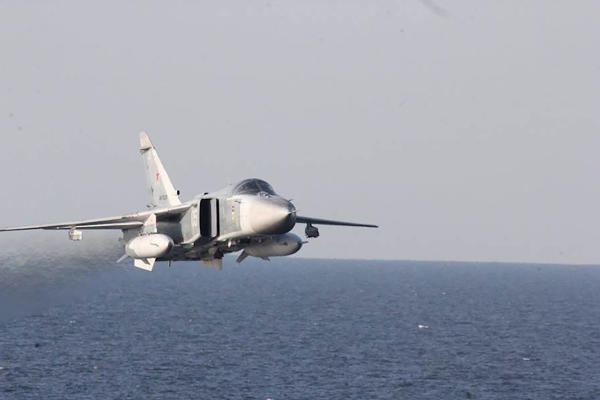 Russian Jet Flew near Coalition Plane over Syria