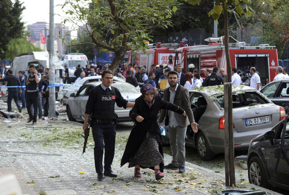 Blast in Istanbul Caused by 'Motorbike Bomb',  Ten Wounded