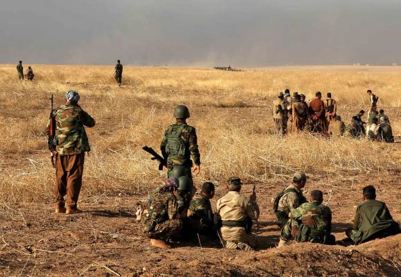 Kurds Claim Capture of Town in Advance on Mosul