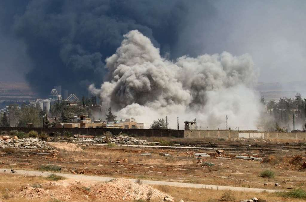 Syrian Rebels Launch Latest Push to Lift Aleppo Siege