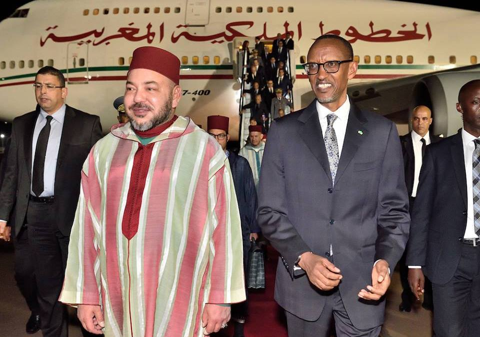 King Mohammed VI Visits Rwanda with East Africa's Tour