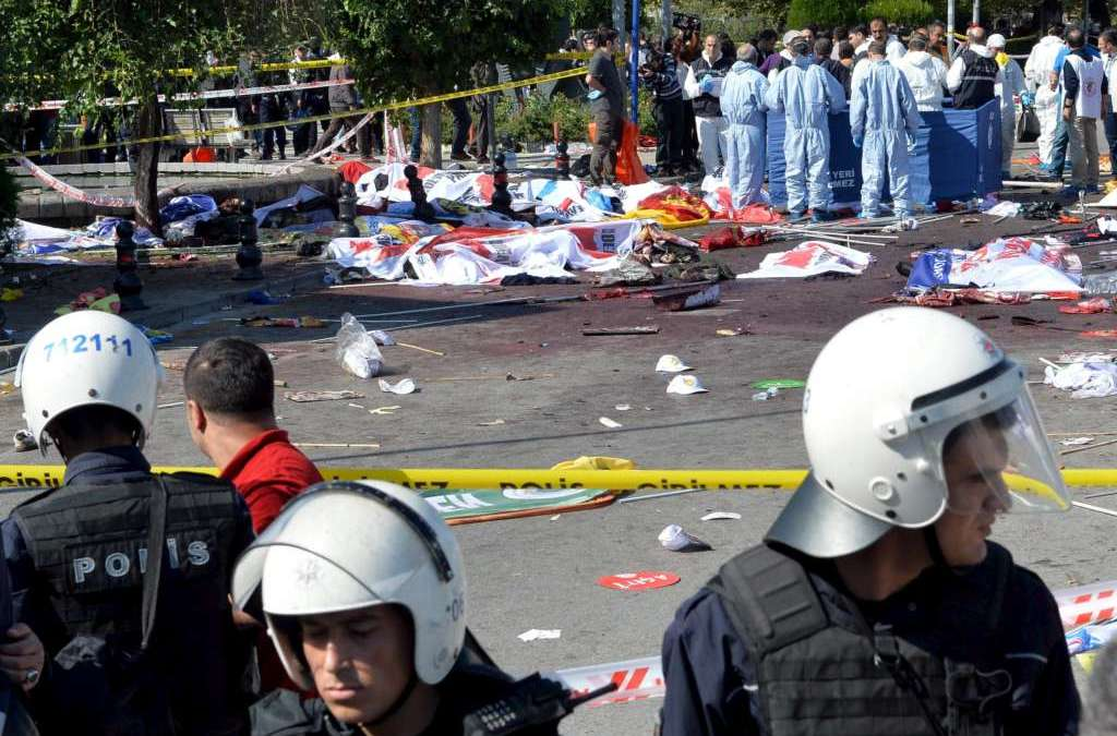 Turkish Police Kill ISIS Suicide Bomber in Ankara