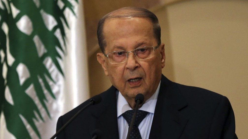 Lebanon's Aoun Returns to Presidential Palace