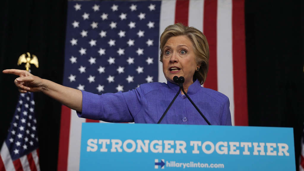 A President-elect Clinton would Face a Foreign Policy Two-step